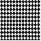 Classic Diamond Black White By Premier Prints - Drapery Fabric 30 Yard bolt