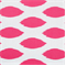 Chipper Candy Pink White Premier Prints -Drapery Fabric - Order a Swatch