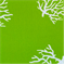 Coral Chartreuse White By Premier Prints - Drapery Fabric - Order a Swatch