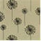 Dandelion Black Denton by Premier Prints - Drapery Fabric 30 Yard bolt