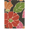 Baha Charcoal Floral Drapery Fabric - Order a Swatch