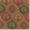Modesto Spice Diamond Drapery Fabric - Order a Swatch