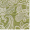Tahiti Chartruese Floral Chenille Upholstery Fabric - Order a Swatch