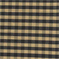 Sunshine Black/Gold Check Silk Drapery Fabric - Order a Swatch