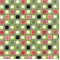 Square Dance - Black Fabric - Order a Swatch