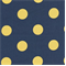 Polka Dot - Royal/Yellow Indoor/Outdoor Fabric - Order a Swatch
