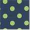 Polka Dot - Royal/Lime Indoor/Outdoor Fabric - Order a Swatch