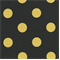 Polka Dot - Black/Yellow Indoor/Outdoor Fabric - Order a Swatch