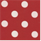 Polka Dot - Red Indoor/Outdoor Fabric - Order a Swatch