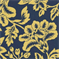 Flower Show - Royal/Yellow Indoor/Outdoor Fabric - Order a Swatch