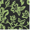 Flower Show - Black/Lime Indoor/Outdoor Fabric - Order a Swatch