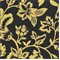 Flower Show - Black/Yellow Indoor/Outdoor Fabric - Order a Swatch