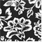 Flower Show - Black Indoor/Outdoor Fabric - Order a Swatch