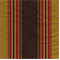 Matador Stripe Walnut Faux Silk Fabric - Swatch