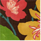 Gorgeous Chestnut Floral Drapery Fabric by Braemore - Order a Swatch