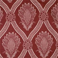 Crimson Damask Fabric by Jaclyn Smith 01835 - Order a Swatch