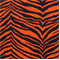 Tunisia Navy Orange Printed by Premier Print - Drapery Fabric - Order a Swatch