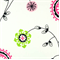 Emma Candy Pink Floral Printed by Premier Print - Drapery Fabric 30 Yard Bolt
