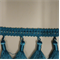 Nelly Turquoise Tassel Fringe - Order a Swatch
