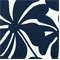 Twirly Deep Blue Floral Outdoor by Premier Prints - Drapery Fabric 30 Yard Bolt