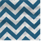 Zig Zag Blue Moon Outdoor Premier Prints Fabric - Order a Swatch