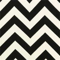 Zig Zag Ebony Outdoor by Premier Prints - Drapery Fabric 30 Yard Bolt