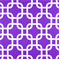 Gotcha Candy Purple/White Twill by Premier Prints - Drapery Fabric - By The Bolt
