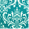 Ozborne True Turquoise by Premier Prints - Drapery Fabric - By The Bolt