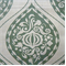 Ogee Aquamarine Green Large Medallion Drapery Fabric by DwellStudio for Robert Allen - Order a Swatch