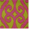 Patola Kiwi Ikat Chenille Upholstery Fabric by Swavelle - Order a Swatch