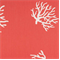 Coral Coral/White By Premier Prints - Drapery Fabric - Order a Swatch