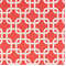 Gotcha Coral/White by Premier Prints - Drapery Fabric - By The Bolt