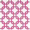 Gotcha White/Candy Pink by Premier Prints - Drapery Fabric - By The Bolt