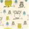 Hooty Summerland/Natural by Premier Prints - Drapery Fabric 30 Yard Bolt
