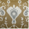 Java Umber Ikat Drapery Fabric - Order a Swatch