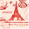 French Stamp Primary Red/Natural by Premier Prints - Drapery Fabric - Order a Swatch