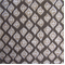 Jasmine Pebble Contemporary Diamond Drapery Fabric - Order a Swatch