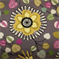 Fiona Graphite Floral Drapery Fabric - Order a Swatch