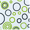Bubbles Black/Chartreuse By Premier Prints - Drapery Fabric - Order a Swatch