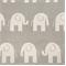Ele Grey/Natural by Premier Prints - Drapery Fabric 30 Yard Bolt