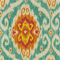 Ubud Sunstone Drapery Fabric by Waverly  - Order a Swatch