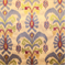 Fairytale Maroon Embroidered Ikat Drapery Fabric - Order a Swatch