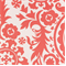 Suzani Coral/White By Premier Prints Fabrics Drapery Fabric 30 Yard Bolt