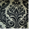 M9209 Onyx Floral Upholstery Fabric by Barrow - Order a Swatch