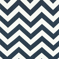 Zig Zag Blue/Twill by Premier Prints - Drapery Fabric 30 Yard Bolt