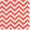Zig Zag Coral/White by Premier Prints - Drapery Fabric 30 Yard Bolt