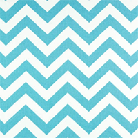 Zig Zag Girly Blue/Twill by Premier Prints - Drapery Fabric 30 Yard Bolt