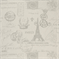 French Stamp Onyx Grey/Natural by Premier Prints - Drapery Fabric - Order a Swatch