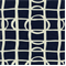 Lattice Graph Ultramarine Drapery Fabric by Robert Allen  - Order a Swatch