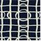 Lattice Graph Ultramarine Drapery Fabric by Robert Allen  - Order a Swatch